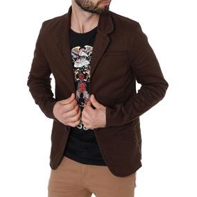 Blazer Masculino Bivik Marrom e59771e33fc89