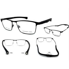 8e5e449a643df Armação Oculos Grau Th2485 Para Motos Imã Frete Gratis