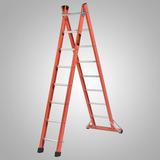 Escada Multiuso Alumínio Fibra Extensivel 3,8 Tesoura 2,2 Mt