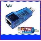 Adaptador Red Usb A Rj45 10/100mbps Ethernet Lan Pc Galaxy
