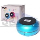 Parlante Mini Bluetooth Sd Usb Recargable Azul