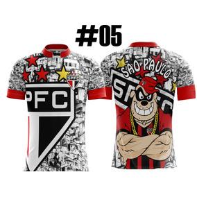 Camisetas Masculino Sao Paulo Paulinia - Camisetas e Blusas no ... 3c03be3dd4bcc