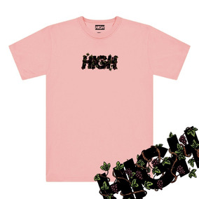 Camisa High Uva Tag High Company Drop 2019 Skate Swag Rap