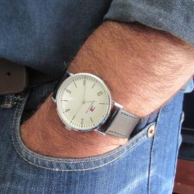 Relógio Masculino Estilo Militar Casual Social Couro