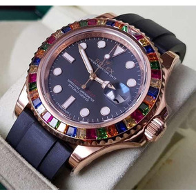 dcaeb00bb6a Rolex Yachtmaster Black Dial Replica - Relógios De Pulso no Mercado ...