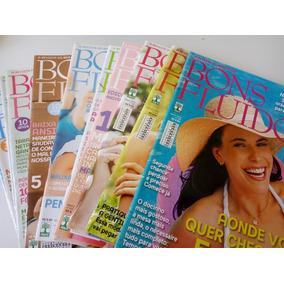 Kit 12 Revistas Bons Fluidos 2010 - Leia Descrição. Barato!