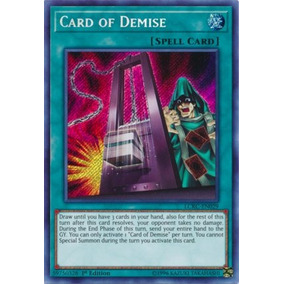 Card Of Demise Mil1-pt014 Ultra Rare