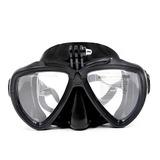 02149f2a831fe Óculos Mergulho Câmeras Ação Gopro Hero Sjcam Eken Cor Preto
