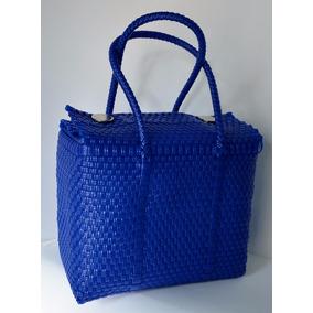 Bolsas Artesanales Tejidas - Bolsas Azul en Mercado Libre México 4f34b2ddf01a