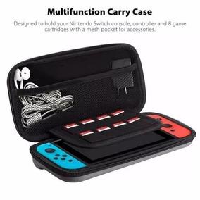 Kit Case Anti-choque Switch+película De Vidro+capa Silicone
