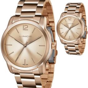 df01012076e Relogio Lince Feminino Rose Grande - Relógios De Pulso no Mercado ...
