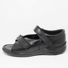 Calzado Huarache Diabético Unisex Bio Shoes Piel Mod5160 Msi