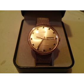 Reloj Mido Commander Dorado 100% Original Chapa Oro
