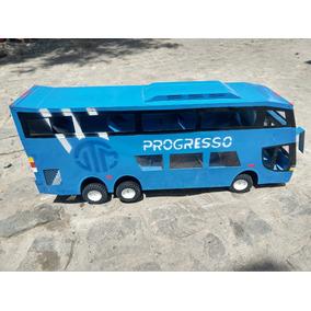 Carrinho De Briquedo - Ônibus De Lata Grande