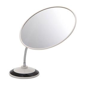 Espelho Para Maquiagem Grande Com Haste Flexível Oval
