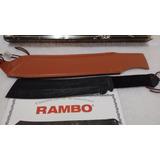 Faca Rambo 4 Iv Master Cutlery Militar Tática