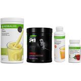 Kit Herbalife Cr7 + Shake + Cha 50g + Fiber Conc.450ml