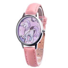 Relógio Infantil Unicórnio Feminino Luxo Frete Grátis