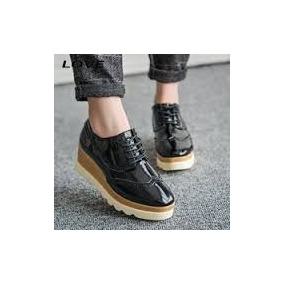 9c790a45e196e Zapato Oxford Negro Charol Calzado Colombiano Envío Gratis