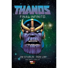 Hq Thanos: Final Infinito (marvel Ogn - Panini Books)