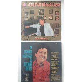 Lote Com 2 Lps Alipio Martins Altemar Dutra Frete Grátis