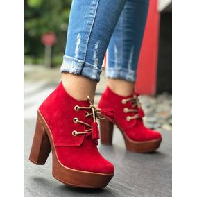 Zapatos Botines Tacones Colombianos Dama Envío Gratis