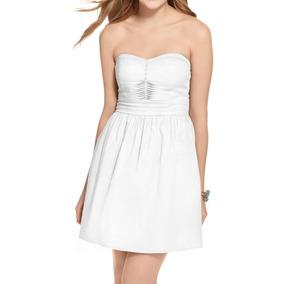 0c79555094 Mini Vestido Strapless De Algodon - Ropa y Accesorios en Mercado ...