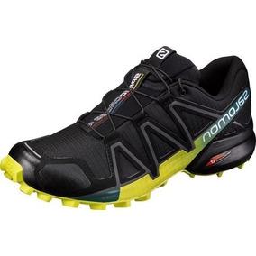 Tênis Speedcross 4 Masculino - Preto/verde