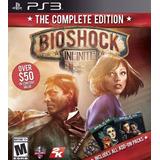 Bioshock Infinite + Todos Los Dlc ~ Ps3 Digital Español