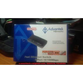 Switch 8 Puertos 10/100,advantek Netpro Series Nuevo!