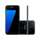 Smartphone Samsung Galaxy S7 Edge 32gb Preto 4g - Câm. 12mp