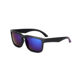 d6b094c2f6a8f Óculos De Sol Retrô Helm Lentes Azul Quadrado