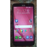 Smartphone Zenfone Go Live Rosa Dtv Trincado Na Tela