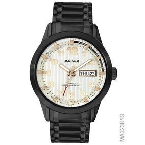 bc01d3cd0fe Relogio Magnum Com Fundo Branco - Relógios no Mercado Livre Brasil