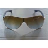 a3895cf0a7614 Armação Óculos Ray Ban Banhado À Ouro no Mercado Livre Brasil