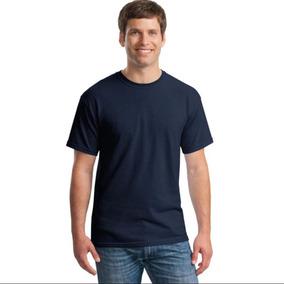 34a7bd49f Camisa Slim Fit - Camiseta Básica Lisa - Masculina