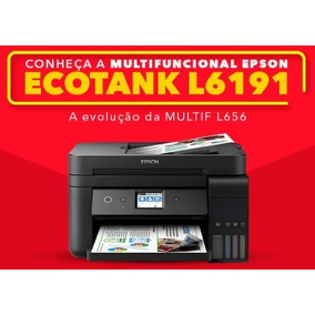 Multifuncional Epson Ecotank L6191 - Substitui L656