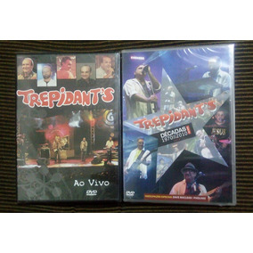 Kit 02 Dvds Trepidants Ao Vivo E Decadas 1970 2010 Original