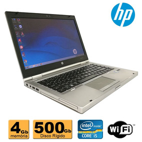 Notebook Hp Elitebook 8460 Core I5 4gb 500gb Refurbished