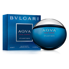 Perfume Bvlgari Aqua Pour Homme Atlantiqve Para Hombre
