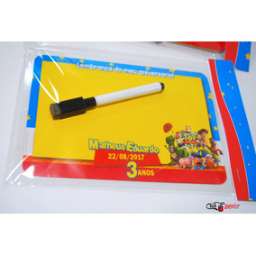 50 Lousas Magnéticas Para Lembrancinha Infantil Tam 10x15cm