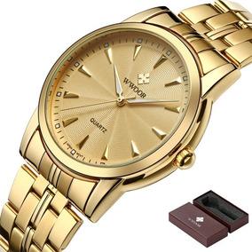 887be33cd9b Relogio Wwoor Luxo - Relógio Masculino no Mercado Livre Brasil