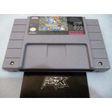 Megaman & Bass (r3pr0) Super Nintendo Snes Game Fenix 599