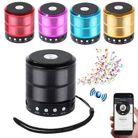 Mini Caixa Som 5w Ws-887 Bluetooth Wireless Mp3 Fm Sd Usb