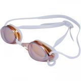 Óculos De Natação Piscina Proteção Uv Mormaii Flexxxa Branco 4a9311b640