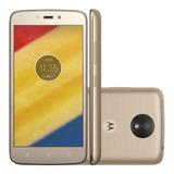 Celular Motorola Moto C 16gb Plus Anatel Android 4g Com Tv
