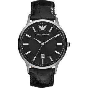 29868cb767cd3 Relogio Emporio Armani Couro - Relógio Masculino no Mercado Livre Brasil