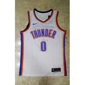 75c7beb5e Oklahoma City Thunder Westbrook Branca - Camisas no Mercado Livre Brasil