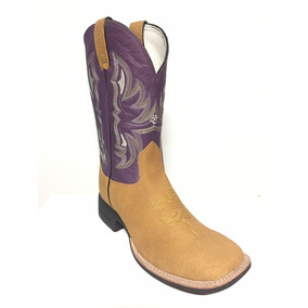 Bota Brazil Country 3628 X3 Hunter Canela/np Violet