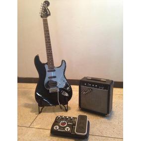 Combo De Guitarra Con Amplificador Y Pedalera Multiefectos